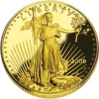 10 dolarów Orzeł, 14 oz 999,9