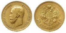 10 rubli 900 0,2489 oz