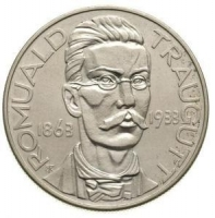 10 zł R. Traugutt srebro 750 22g