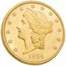 20 dolarów Liberty 0.9675 oz 999,9