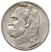5 złotych J.Piłsudski srebro 750 11g