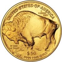 50 dolarów Buffalo, 1oz 999,9