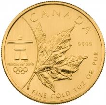 50 dolarów kanadyjskich Vancouver 1oz 999,9r