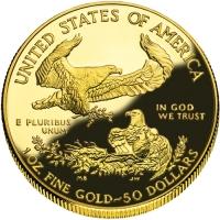 50 dolarów Orzeł, 1 oz 999,9